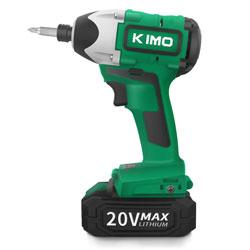 KIMO 20Vコードレスインパクトドライバー QM-3601b