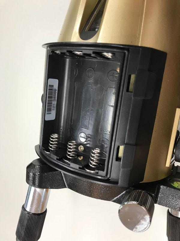 タジマレーザー電池ボックス