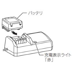 バッテリの充電