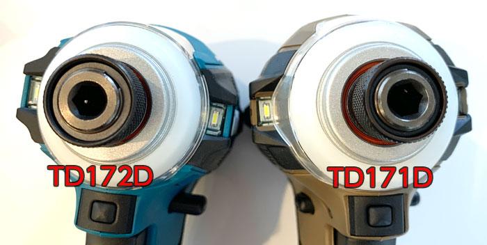 アンビル剛性25%アップ TD172D