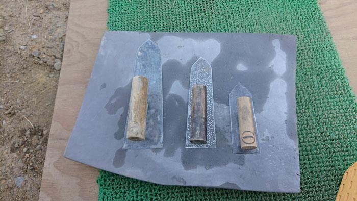 コテの種類も様々(画像提供:安永左官工業)